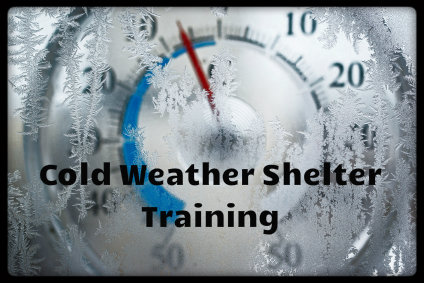 cold weather shelter training